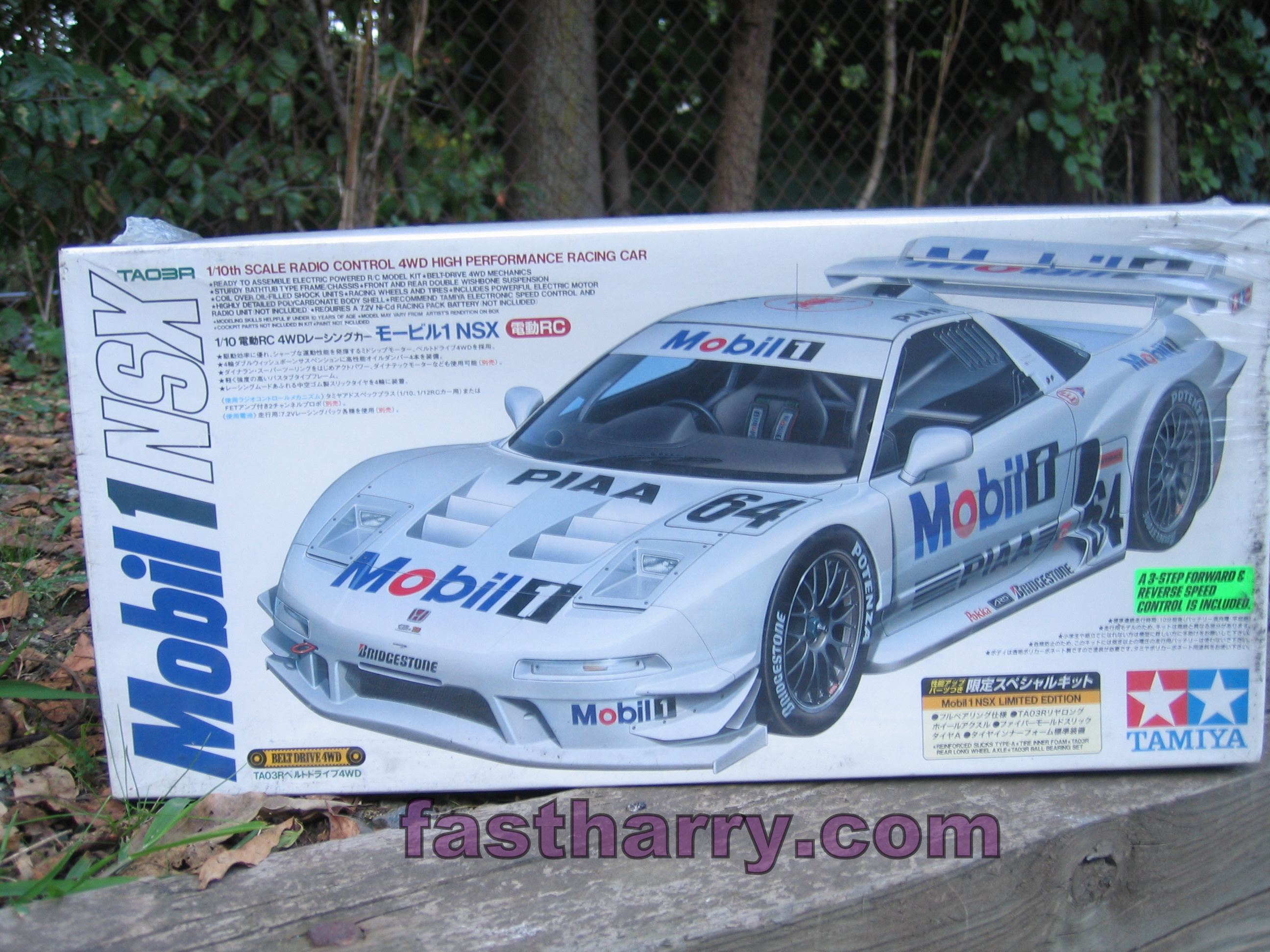 Vintage Tamiya Mobil One Acura Nsx Limited Edition 58220 Fastharry