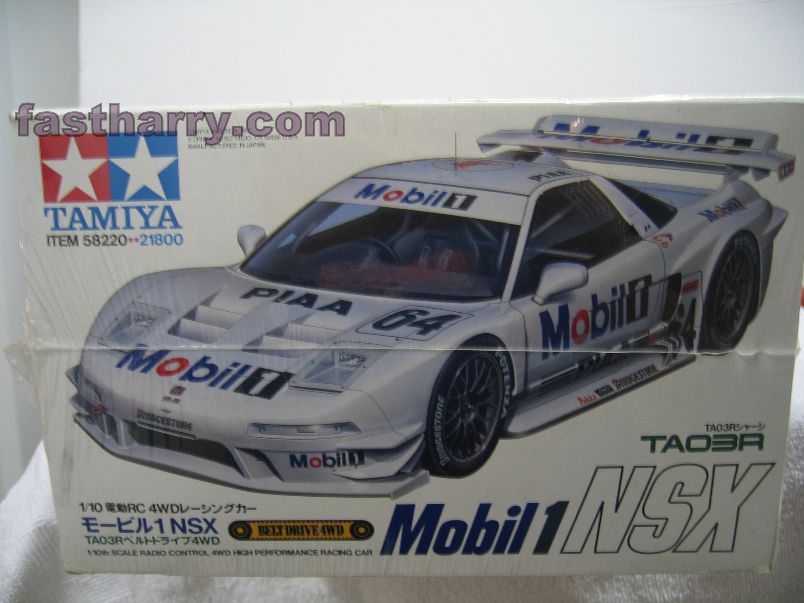 vintage tamiya mobil one acura nsx limited edition #58220 fastharry