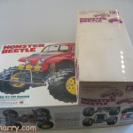 For Sale: Vintage Tamiya White Body Monster Beetle RC (Radio Control) Kit #58060 and Tamiya Monster Beetle Body Kit