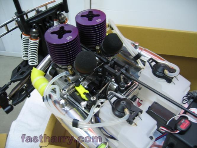 Ofna Titan Twin Dual Nitro Engine Radio Control Monster
